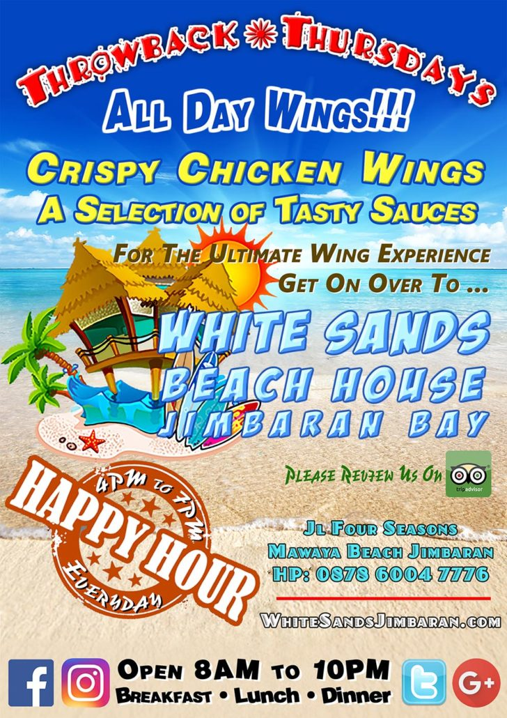 White Throwback Thursdays @WhiteSandsBeachhouse