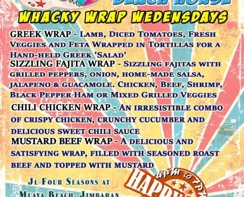 White Sands Wacky Wrap Wednesdays