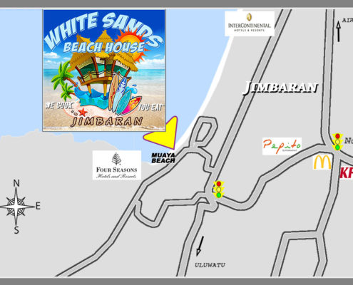 White Sands Beach House Jimbaran Bali