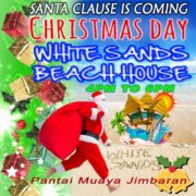 Christmas 2017 White Sands Beach House Jimbaran