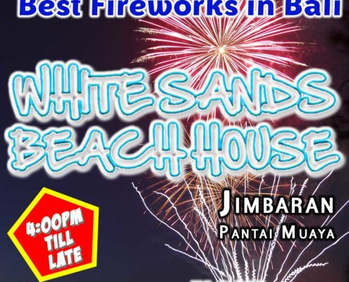 New Years Eve 2017 at White Sands Beach Bar Jimbaran